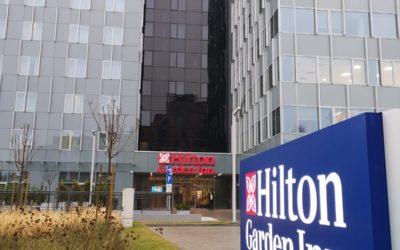Poslovna građevina Radnička 21 i Hotel Hilton, Zagreb